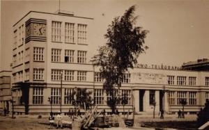 Gdyński Urząd Pocztowy po oddaniu do użytku (Fot by Fotobrom Gdynia)